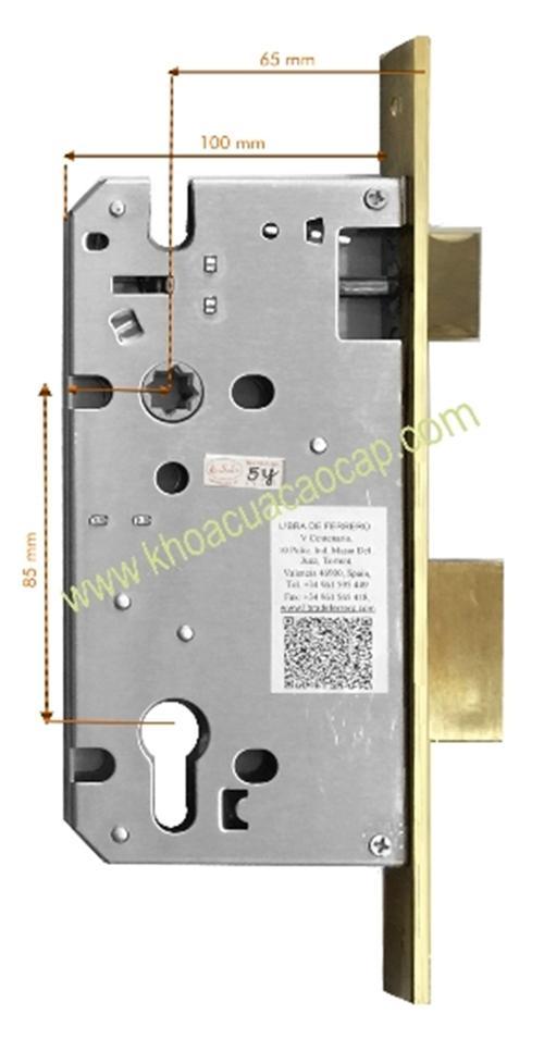 Phụ kiện khóa cửa-thân khóa inox 304