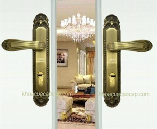 khóa đồng đẹp cho cửa gỗ M20